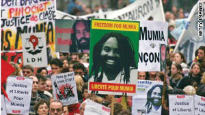Mumia-demo-France, 3rd Circuit appeal ruling favoring Abu-Jamal smacks down US Supreme Court, Behind Enemy Lines