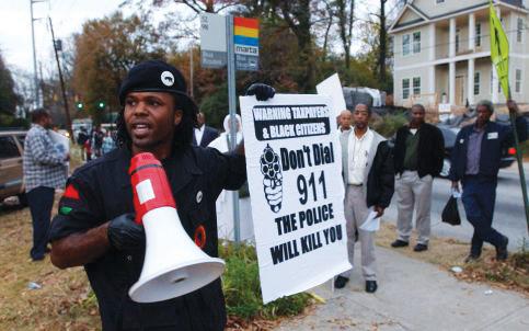 Atlanta_protest_police_murder_Kathryn_Johnston_92_1106_by_W.A._Bridges_Jr._Atlanta_Journal-Constitution, Police training exchange compounds US, Israeli racism, World News & Views