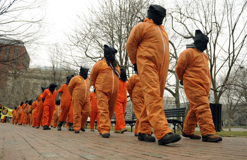 DC-rally-for-Guantanamo-closure-0111, China denounces America's treatment of Afro-descendants, World News & Views