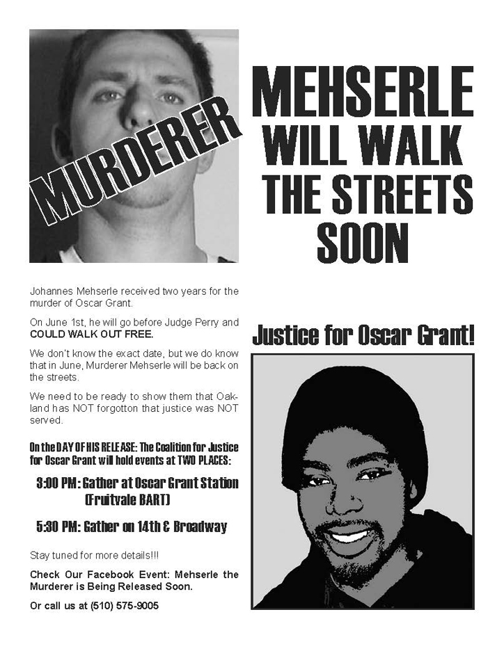 Mehserle-Release-0611, Mehserle shooting of Oscar Grant considered a non-violent offense, Local News & Views