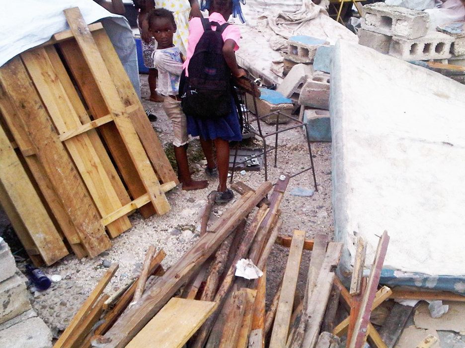 forced evictions Martelly