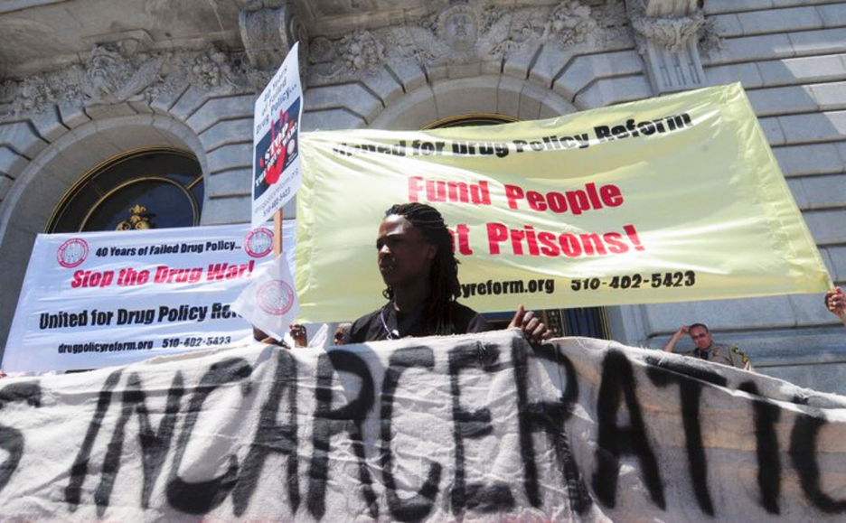 Communities-Rising-to-End-the-Drug-War-and-Mass-Incarceration-300-protest-on-40th-anniv.-of-Nixons-declaration-of-war-on-drugs-at-SF-City-Hall-061711-by-Bill-Hackwell1, 'Communities rising' across California to end mass incarceration and the 40-year war on drugs, Behind Enemy Lines