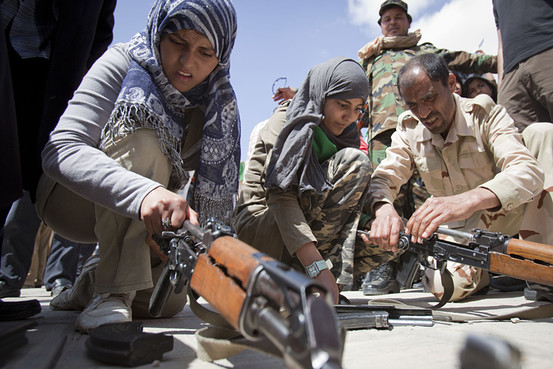 Libyan-students-learn-weapons-use-to-defend-against-US-NATO1, Barack Obama: Africa's friend or enemy?, World News & Views