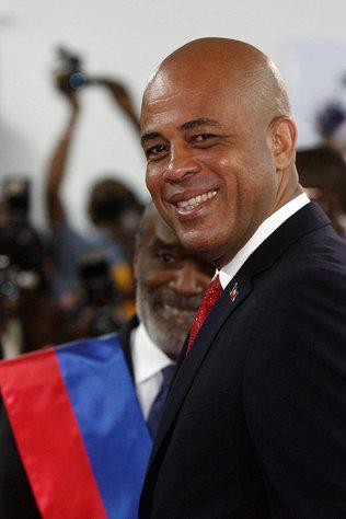 michel martelly president. President Michel Martelly,