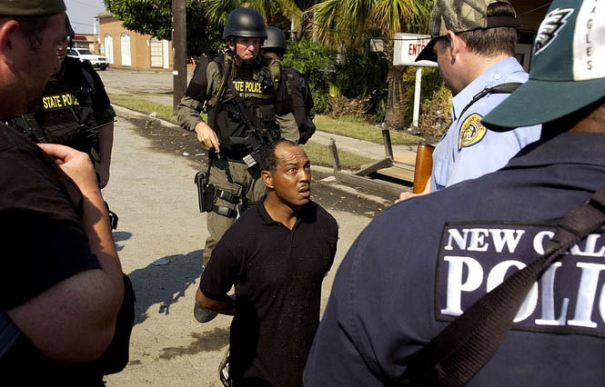 NOPD-accuse-Lance-Madison-brother-of-police-murder-victim-Ronald-Madison-of-shooting-at-police-090405-by-Alex-Brandon-T-P1, New Orleans police violence trial begins, National News & Views