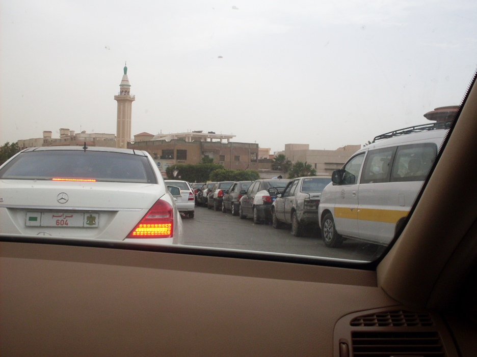 Tripoli-gas-station-lines-0611-by-Wayne-Madsen-in-Tripoli1, NATO's 'alternate universe' in Libya, World News & Views