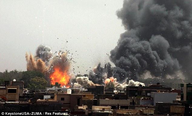 Tripoli bombed