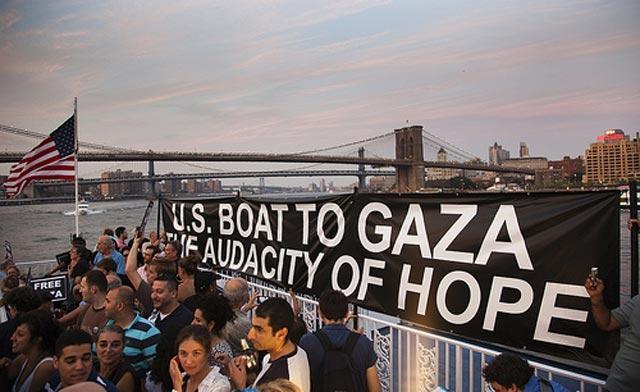 U.S.-Boat-to-Gaza-The-Audacity-of-Hope-passengers-prepare-for-flotilla-0611-by-Al-Arabiya, Alice Walker: Why I'm joining the Freedom Flotilla to Gaza, World News & Views