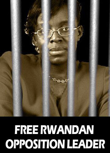Victoire-behind-bars, 'Kagame, stop killing': Rwandan and Congolese protest Rwanda's president in Chicago, World News & Views