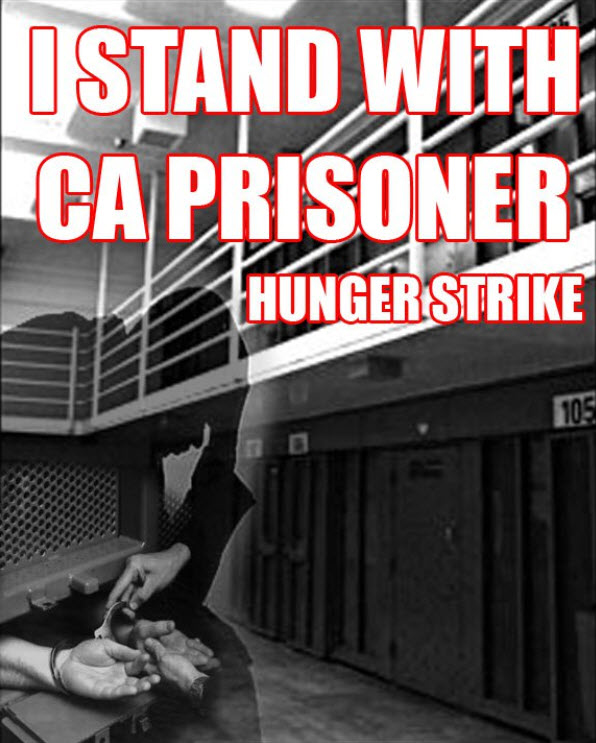 I-stand-with-CA-prisoner-hunger-strike, Corrections officials accede to pressure, begin negotiating with hunger strikers as their health deteriorates, Behind Enemy Lines