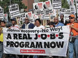 Jobs-march, How racism, global economics and the new Jim Crow fuel Black America's crippling jobs crisis, National News & Views