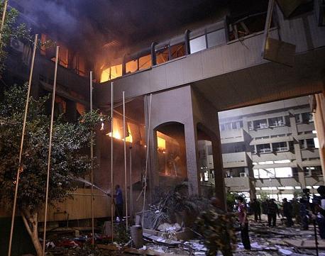 Nato-bombing-in-Tripoli-Libya-0511, Libya's neighborhoods prepare for NATO boots, World News & Views
