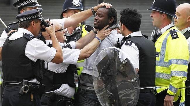 British-rebellion-cops-arrest-Black-man-0811, London police target Black men: You say riots! We say insurrection!, World News & Views