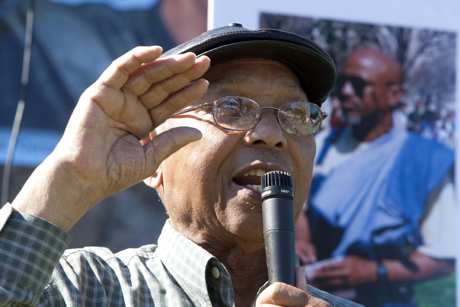 Geronimo-Day-Bobby-Hutton-Park-Willie-Ratcliff-071711-by-Malaika-web, Stop stealing our jobs, our freedom, our land and our lives, Local News & Views