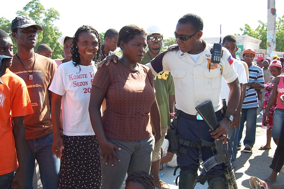 Haiti-homeless-Camp-Django-Delmas-17-PAP-eviction-protest-against-police-MINUSTAH-ends-peacefully-080111-by-Gaetantguevara-web, Wave of illegal, senseless and violent evictions swells in Port au Prince, World News & Views