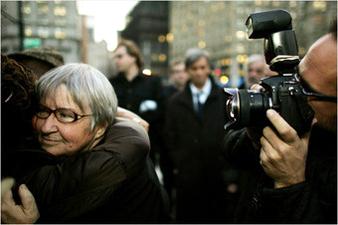 Lynne-Stewart-goes-to-prison-111909, The People's Lawyer: an interview wit' Lynne Stewart, Behind Enemy Lines