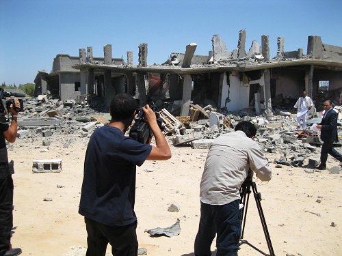 Media-record-080811-NATO-bombing-destruction-of-civilian-homes-in-farming-village-of-Majer-Libya-by-©2011-Matthew-Ozanon1, NATO'S 'Qana Massacre' at Majer, Libya, World News & Views
