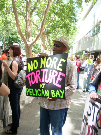 Pelican-Bay-hunger-strike-rally-Emory-Douglas-CDCR-HQ-Sacramento-071811, Black August: All eyes on us, Behind Enemy Lines