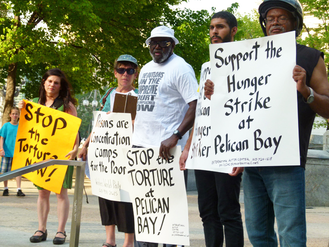 Pelican-Bay-hunger-strike-rally, Wanda's Picks for August 2011, Culture Currents