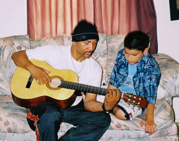 Teddy-Lee-Hooker-teaches-guitar, First Annual Allensworth 'Scat to Rap' Family Music Festival benefits emancipating foster youth, Culture Currents