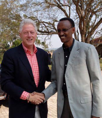 Bill-Clinton-Paul-Kagame-in-Rwanda1, Rwandan President Paul Kagame on the night of Troy Davis' execution, World News & Views