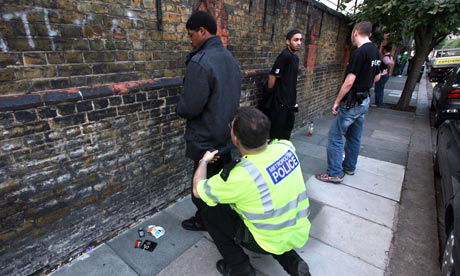 British-police-stop-and-search-2, Cameron's riot response: Kick them while they're down, World News & Views