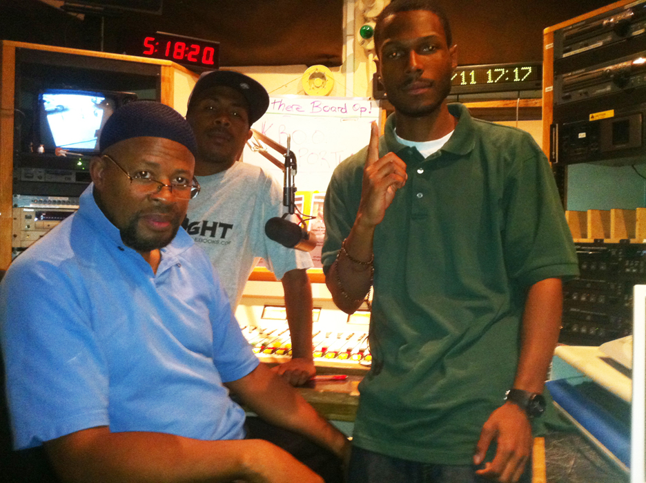 KBOO-Portland-jazz-show-host-Yugn-JR-Malcolm-0811-by-brr, Grassroots radio gives voice and life to democracy, Culture Currents