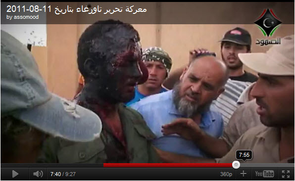 Loyalist-Black-prisoner-in-Tawergha-Libya-video-by-Assomood, Libya: Tawergha, city of Blacks, depopulated – Rep. Jesse Jackson calls for investigation of 'crimes against humanity', World News & Views