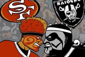Niners-Raiders-graphic, Funk Season 2011: Violence at Niner vs. Raider game mirrors mayhem on Bay streets, Local News & Views
