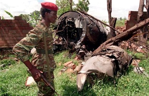 Plane-crash-040694-assassinating-Rwanda-President-Juv%C3%A9nal-Habyarimana-Burundi-President-Cyprien-Ntaryamira, Obama requests immunity for Kagame re Rwanda Genocide and Congo wars, World News & Views