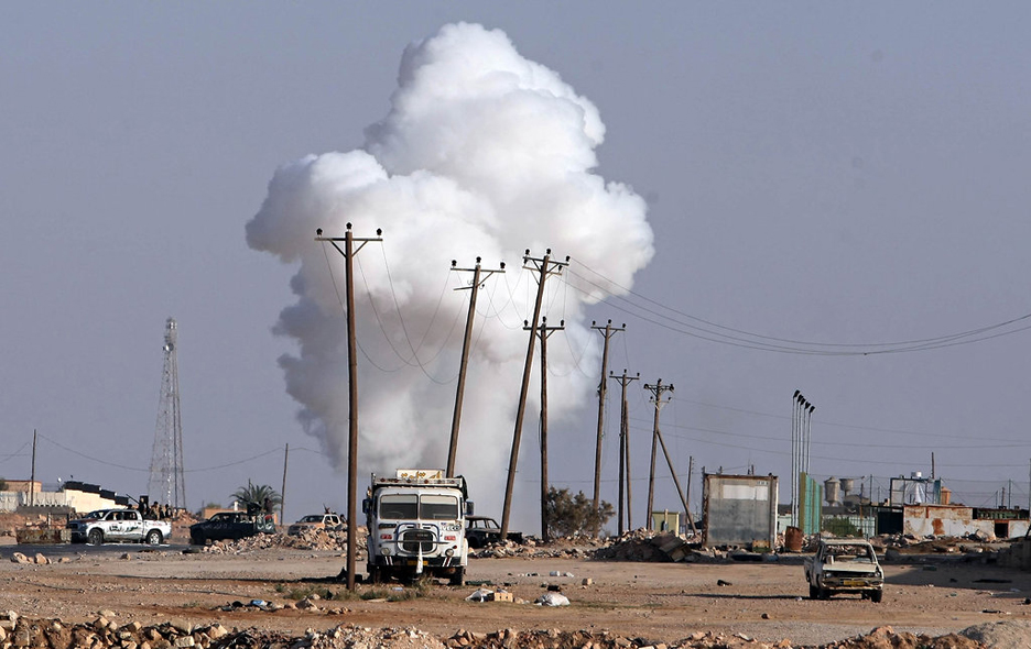 Rebels-fiercely-resisted-Bani-Walid-091811-by-Mahmud-Turkia.-AFP-Getty, Imperialism will be buried in Africa, World News & Views