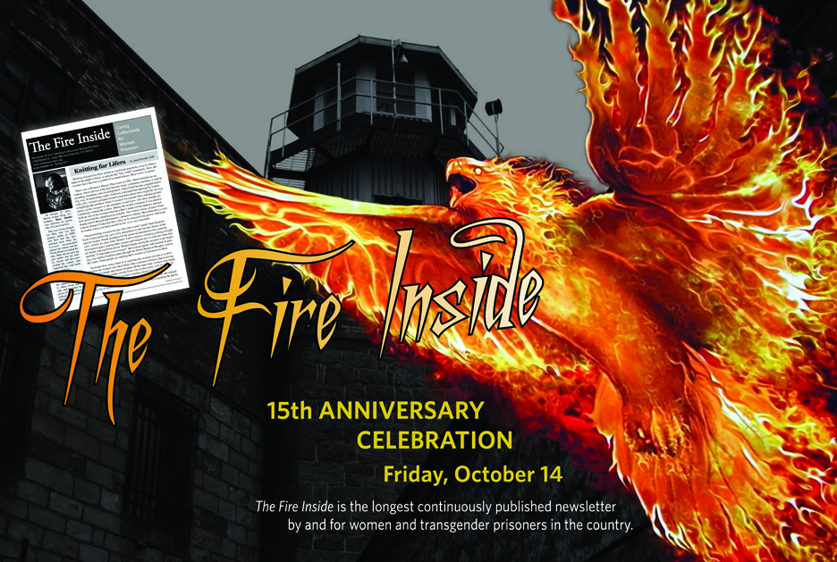 Fire-Inside-front-1011, Fire Inside: 15 years of giving voice to women and transgender prisoners in California, Culture Currents