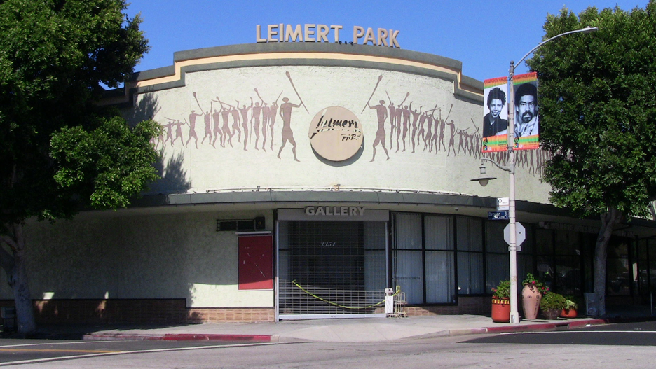 Former-Lucy-Florence-Cultural-Center-Degnan-43rd-Leimert-Park, Crenshaw-LAX rail line closer to reality, but is prosperity?, National News & Views