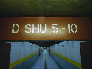 Pelican-Bay-SHU-D-Corridor-by-Michael-Montgomery-California-Watch, 12,000 California prisoners on hunger strike, Behind Enemy Lines
