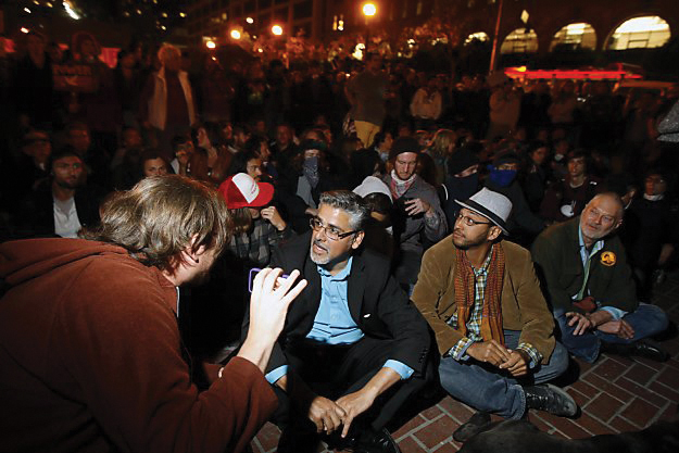Occupy-SF-John-Avalos-protecting-against-SFPD-raid-all-night-1026-27114, John Avalos for Mayor: Everyday giants can turn the city around, Local News & Views