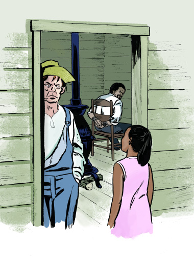 The-Adventures-of-Sasha-and-Malia-at-the-White-House'-Jebediah-Frederick-Douglass-Sasha, Two little girls rescue Frederick Douglass, Culture Currents