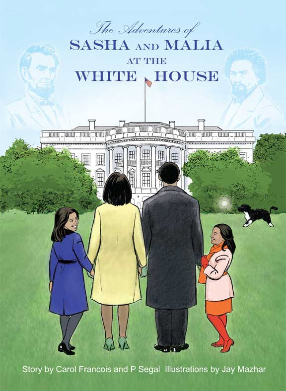 The-Adventures-of-Sasha-and-Malia-at-the-White-House'-cover, Two little girls rescue Frederick Douglass, Culture Currents