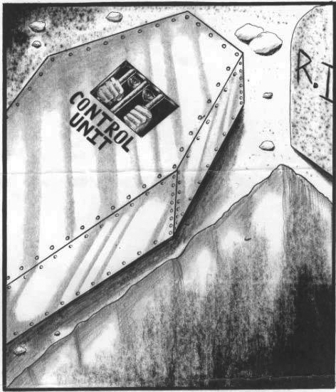 Control-Unit-drawing-by-unknown-prisoner, Hunger strike organizer: Ad-Seg/ASU units are bad news, Behind Enemy Lines