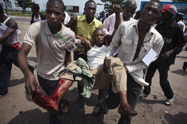 DR-Congo-police-army-hold-opposition-presidential-candidate-%C3%89tienne-Tshisikedi-at-Kinshasa-airport-attack-his-supporters-marching-to-airport-112611-111, Kabila, Tshisekedi, Congo and the International Criminal Court, World News & Views