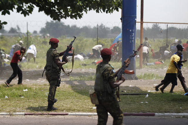 DR-Congo-police-army-hold-opposition-presidential-candidate-%C3%89tienne-Tshisikedi-at-Kinshasa-airport-attack-his-supporters-marching-to-airport-112611-121, Kabila, Tshisekedi, Congo and the International Criminal Court, World News & Views
