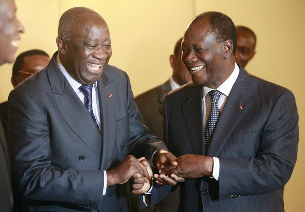 Ivory-Coast-election-eve-Pres.-Laurent-Gbagbo-Alassane-Quattara-meet-Abidjan-112710-by-Thierry-Gouegnon-Reuters, Should Africa be an ally of the West or China? The case of Cameroon and Côte d'Ivoire, World News & Views