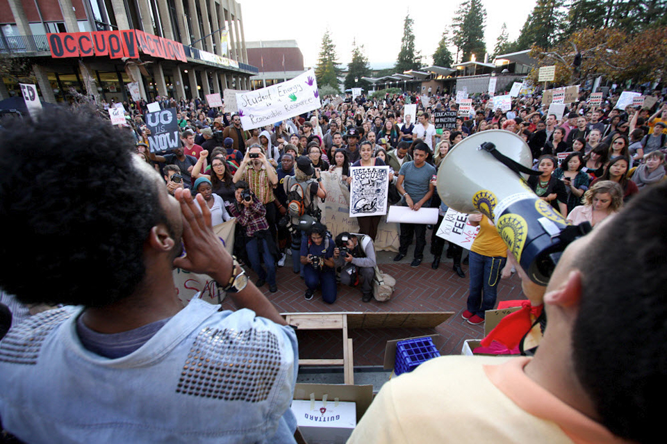 Occupy-Cal-Sproul-Plaza-111511-by-Brian-Nguyen, Race and Occupy Cal, National News & Views