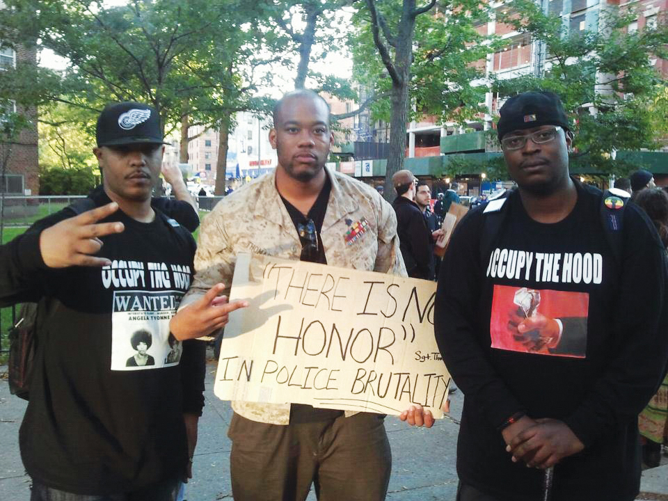 Occupy-the-Hood-There-is-no-honor-in-police-brutality-1111-from-OccupytheHood.org_, Malik Rhasaan: Expanding occupation to the hood, National News & Views