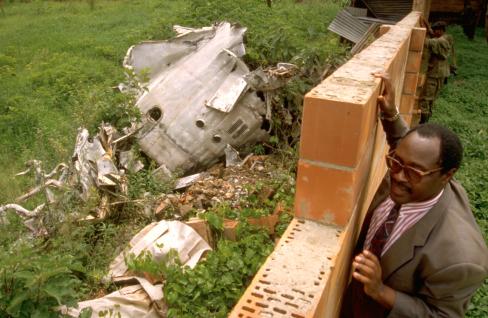 Plane-crash-killing-Presidents-Juvenal-Habyarimana-Rwanda-Cyprien-Ntaryamira-Burundi-Kigali-040694, Burundi and Rwanda presidents' widows appeal Obama immunity for indicted murderer, World News & Views
