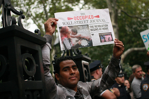 The-Occupied-Wall-Street-Journal-100711-by-New-Yorker, 'What do they want?', National News & Views