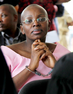 Victoire-Ingabire-in-court-2011-by-New-Times, 'Good' survivors of genocide and 'bad' survivors in the hands of Rwanda's dictator and his agents, World News & Views