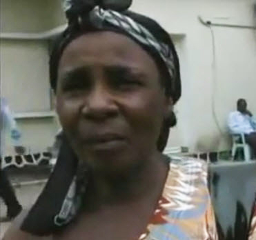 Cedrick-Nianzas-mother-121611-vid-by-TheYandimosi, A young man set himself on fire in Boma, Democratic Republic of the Congo, and becomes a martyr of the Congolese Revolution, World News & Views