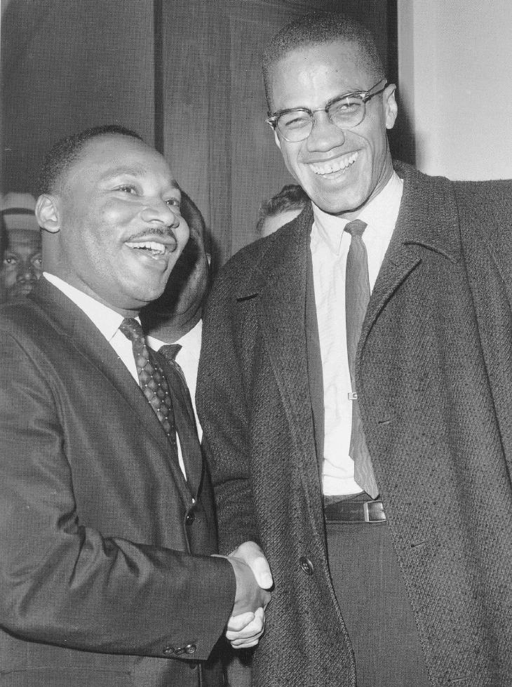 Martin-Luther-King-Malcolm-X-the-meeting, MLK: Amerikkka's Most Wanted, National News & Views