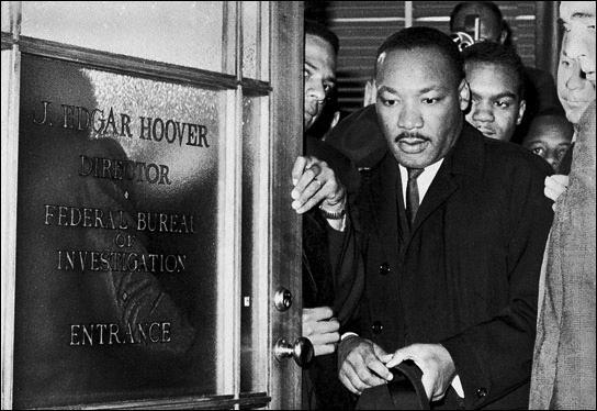 Martin-Luther-King-after-meeting-J.-Edgar-Hoover-1964-by-Corbis-Bettmann, MLK: Amerikkka's Most Wanted, National News & Views