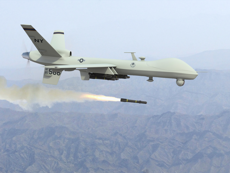 Predator-drone-fires-missile, A sourcebook for the media revolution, Culture Currents